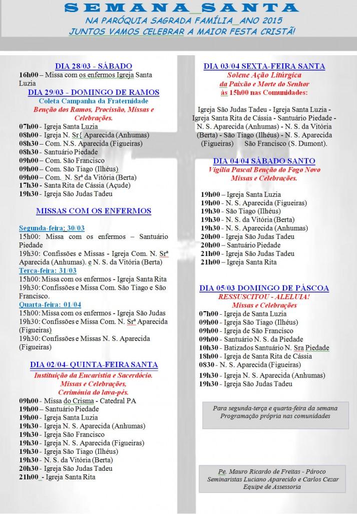 programacao-semana-santa-2015